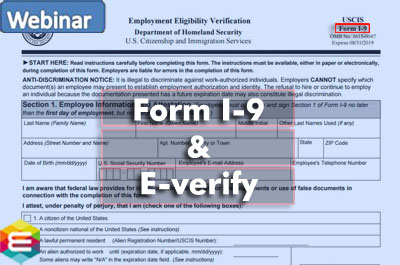form i-9 webinar  Form I-8 Updates 8: How to Prevent Costly Mistakes _Webinar