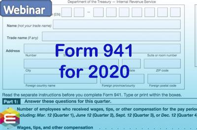 2020 quarterly 941 form