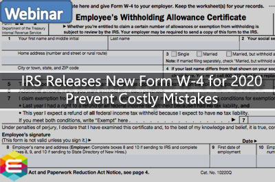 irs-releases-new-form-w-4-for-2020-prevent-costly-mistakes