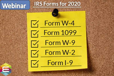 new-irs-forms-update-2020-w-4-1099-w-9-w-2-i-9